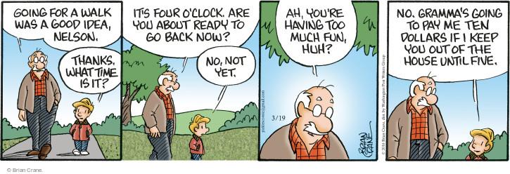Comic Strip Brian Crane  Pickles 2016-03-19 $10