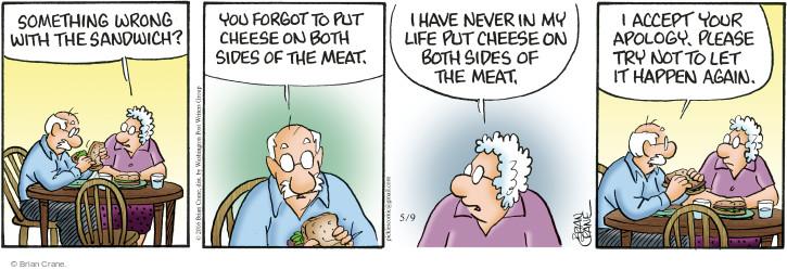 Comic Strip Brian Crane  Pickles 2016-05-09 meat