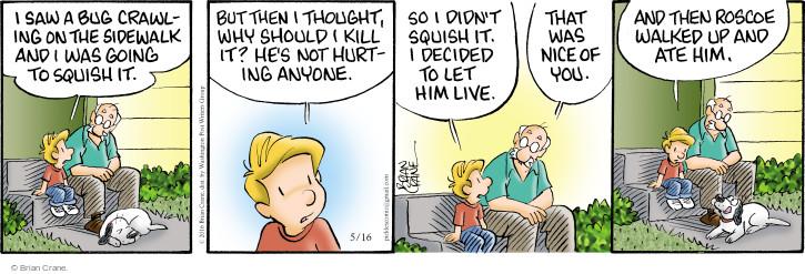 Comic Strip Brian Crane  Pickles 2016-05-16 empathy