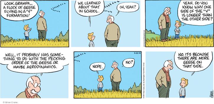 Comic Strip Brian Crane  Pickles 2016-05-22 school