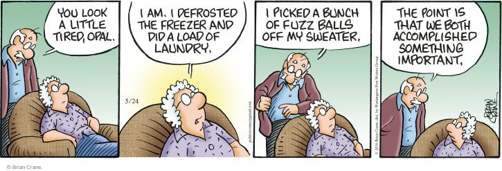 Comic Strip Brian Crane  Pickles 2016-05-24 sweater