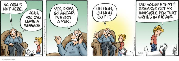 Comic Strip Brian Crane  Pickles 2016-05-25 pretend