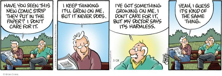 Comic Strip Brian Crane  Pickles 2016-05-28 doctor