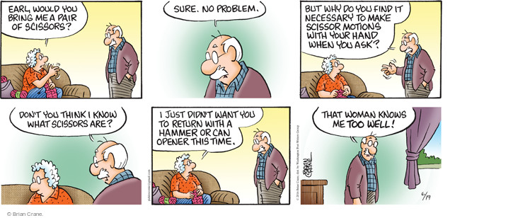 Comic Strip Brian Crane  Pickles 2016-06-19 woman