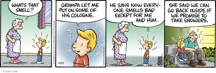 Comic Strip Brian Crane  Pickles 2016-06-25 promise