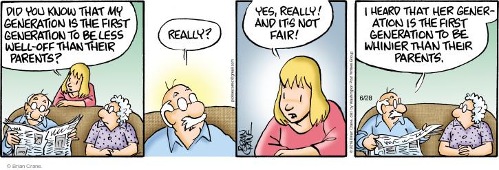 Comic Strip Brian Crane  Pickles 2016-06-28 adult