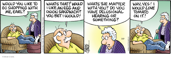 Comic Strip Brian Crane  Pickles 2016-07-07 love