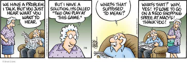 Comic Strip Brian Crane  Pickles 2016-07-09 500