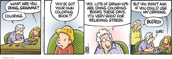 Comic Strip Brian Crane  Pickles 2016-08-25 color
