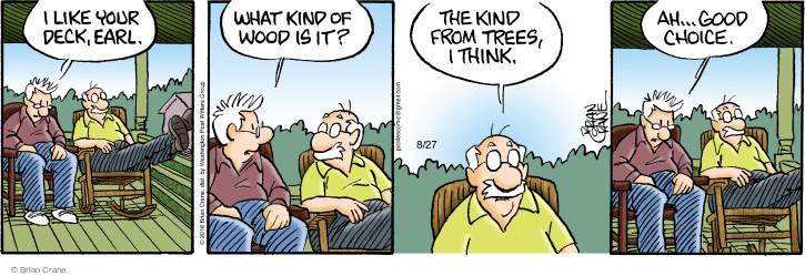 Comic Strip Brian Crane  Pickles 2016-08-27 choice