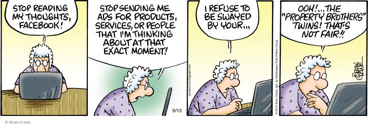 Comic Strip Brian Crane  Pickles 2016-09-13 refuse