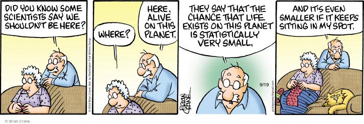 Comic Strip Brian Crane  Pickles 2016-09-19 sofa