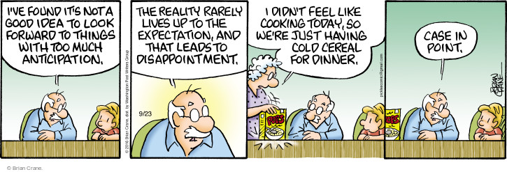 Comic Strip Brian Crane  Pickles 2016-09-23 too