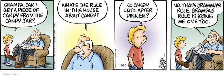 Comic Strip Brian Crane  Pickles 2016-09-26 sweet