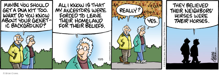 Comic Strip Brian Crane  Pickles 2016-10-05 too