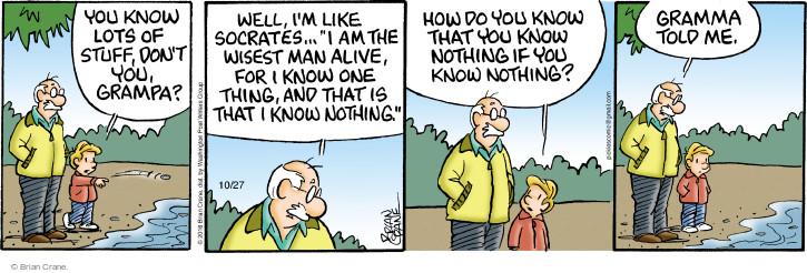 Comic Strip Brian Crane  Pickles 2016-10-27 stuff