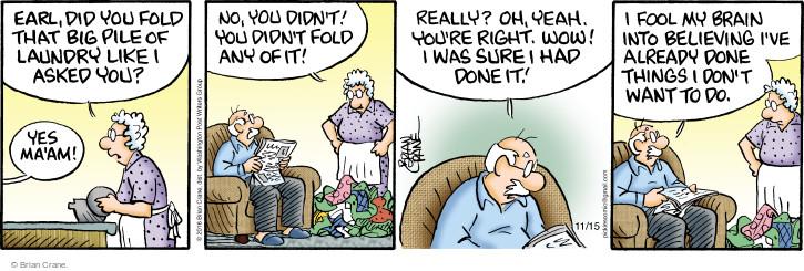 Comic Strip Brian Crane  Pickles 2016-11-15 pile