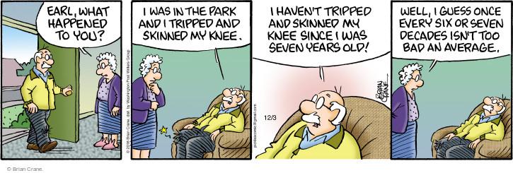 Comic Strip Brian Crane  Pickles 2016-12-03 childhood