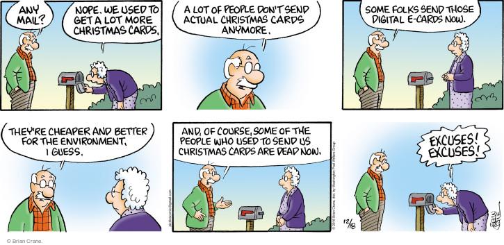 Comic Strip Brian Crane  Pickles 2016-12-18 dead