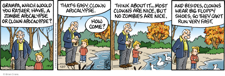 Comic Strip Brian Crane  Pickles 2016-12-07 fast