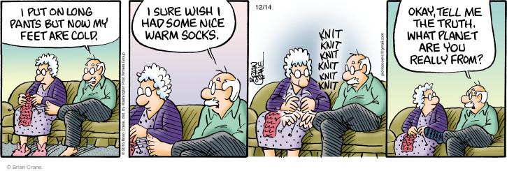 Comic Strip Brian Crane  Pickles 2016-12-14 warm