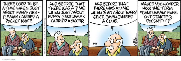 Comic Strip Brian Crane  Pickles 2017-01-11 club