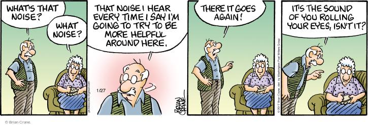 Comic Strip Brian Crane  Pickles 2017-01-27 helpful