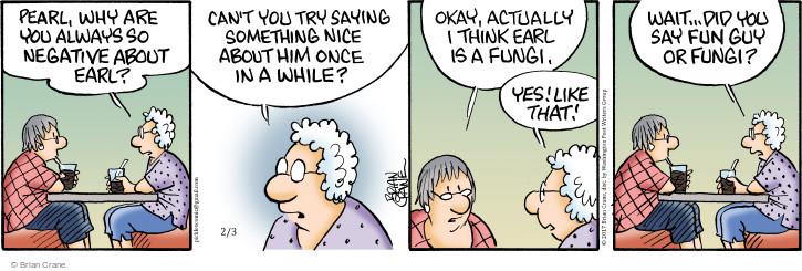 Comic Strip Brian Crane  Pickles 2017-02-03 insult