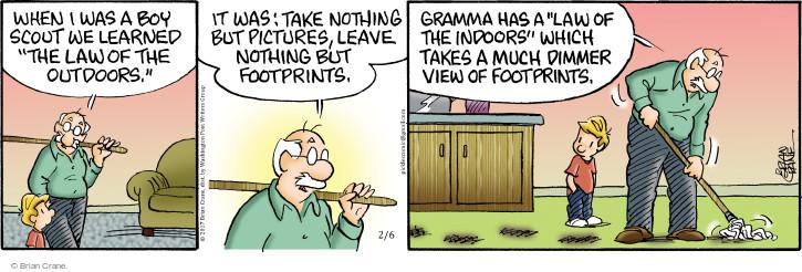 Comic Strip Brian Crane  Pickles 2017-02-06 much