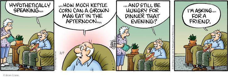 Comic Strip Brian Crane  Pickles 2017-02-07 much