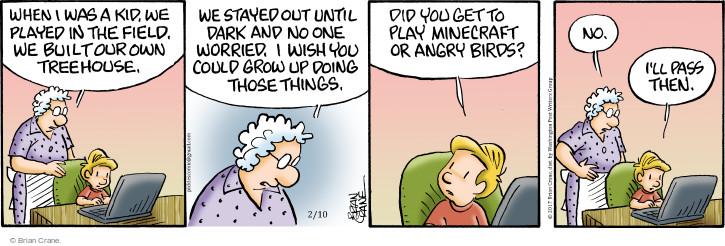 Comic Strip Brian Crane  Pickles 2017-02-10 age