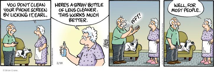 Comic Strip Brian Crane  Pickles 2017-02-18 Earl