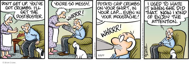 Cartoonist Brian Crane  Pickles 2017-03-03 enjoy