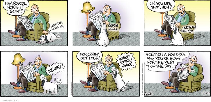 Comic Strip Brian Crane  Pickles 2017-03-26 rest