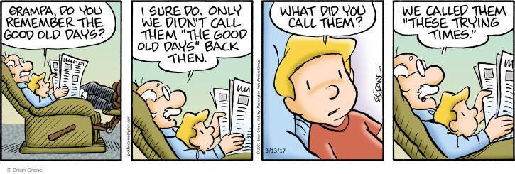 Comic Strip Brian Crane  Pickles 2017-03-13 granddad