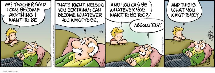 Comic Strip Brian Crane  Pickles 2017-04-01 aspire