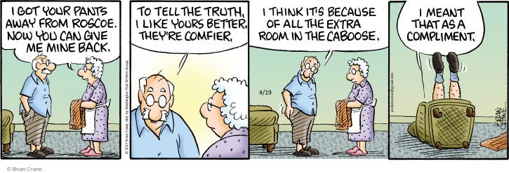 Comic Strip Brian Crane  Pickles 2017-04-19 room