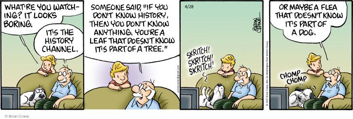 Comic Strip Brian Crane  Pickles 2017-04-28 part