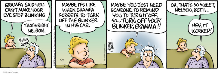 Comic Strip Brian Crane  Pickles 2017-05-06 vehicle