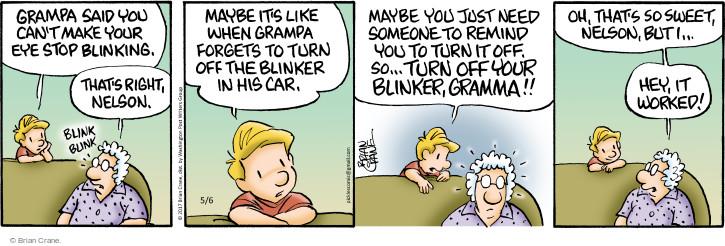 Comic Strip Brian Crane  Pickles 2017-05-06 granddad
