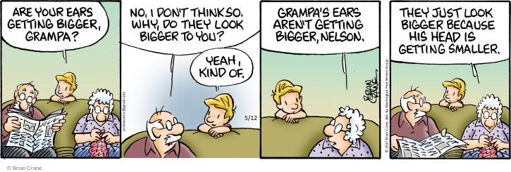 Comic Strip Brian Crane  Pickles 2017-05-12 ear