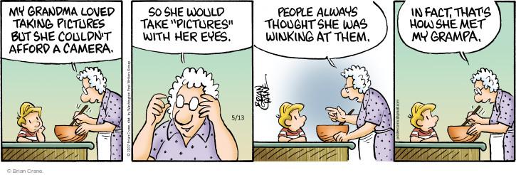 Comic Strip Brian Crane  Pickles 2017-05-13 grandpa