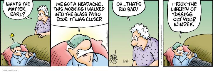 Comic Strip Brian Crane  Pickles 2017-05-15 bad