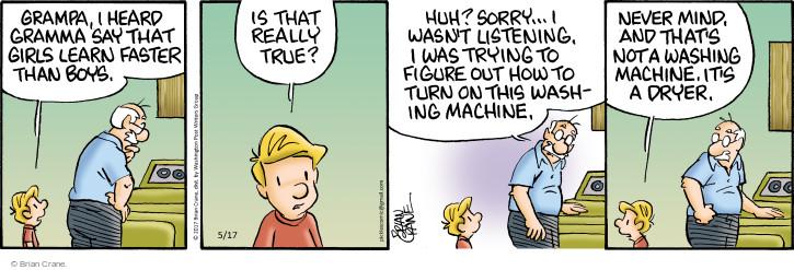 Comic Strip Brian Crane  Pickles 2017-05-17 hear