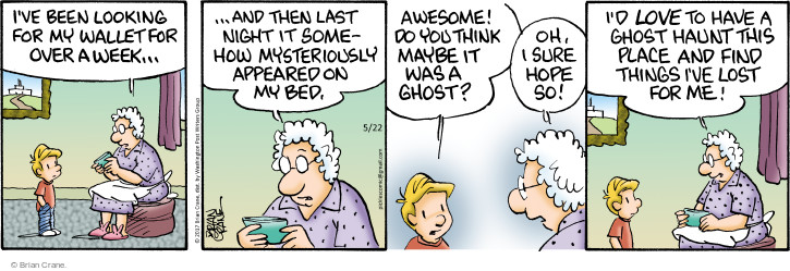 Comic Strip Brian Crane  Pickles 2017-05-22 bed
