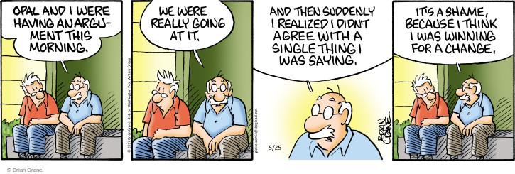 Comic Strip Brian Crane  Pickles 2017-05-25 change