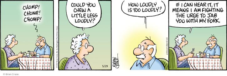 Comic Strip Brian Crane  Pickles 2017-05-29 hear
