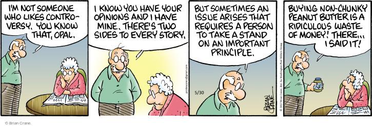 Comic Strip Brian Crane  Pickles 2017-05-30 side