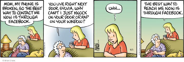 Comic Strip Brian Crane  Pickles 2017-06-01 internet