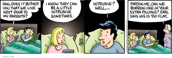 Comic Strip Brian Crane  Pickles 2017-06-03 parent